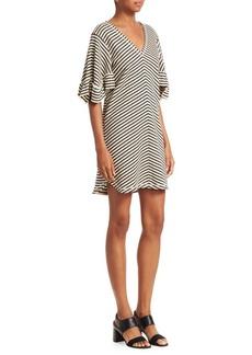 See by Chloé Stripe Cotton Dress