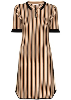 See by Chloé striped collared dress