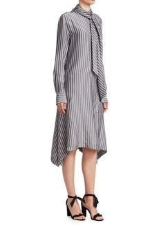 See by Chloé Striped Scarf Dress