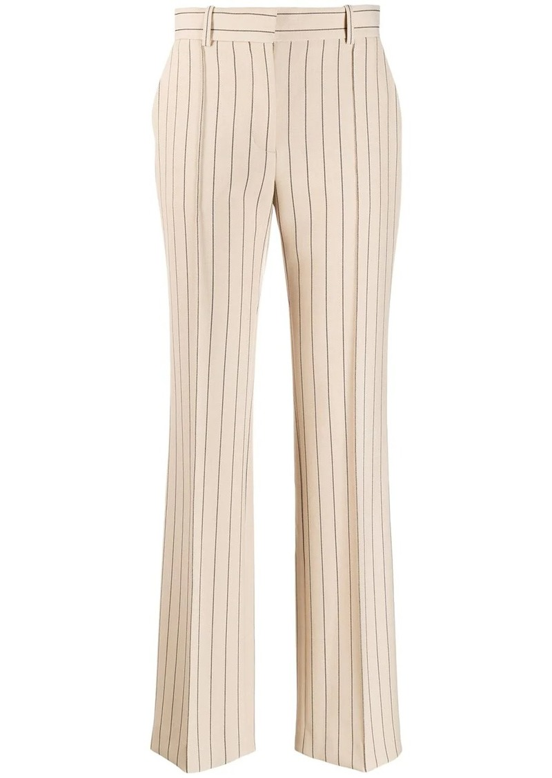 See by Chloé striped trousers