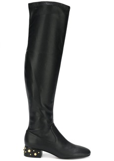 See by Chloé studded heel over-the-knee boots