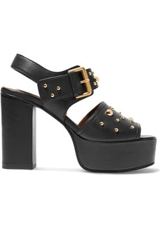 See by Chloé Studded Leather Platform Sandals