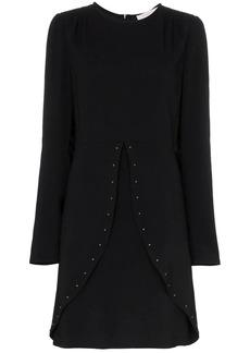 See by Chloé studded slit-detail dress