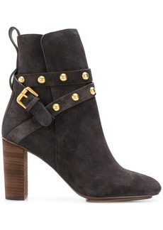 See by Chloé studded strap boots