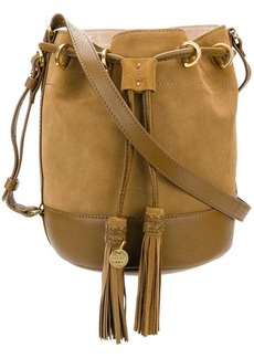 See by Chloé suede bucket bag