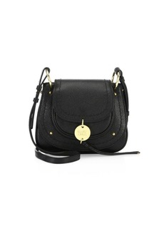 See by Chloé Susie Mini Leather Saddle Bag