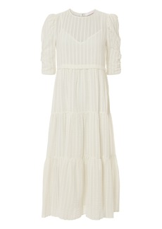 See by Chloé Tea Length White Dress