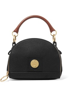 See by Chloé Eddy Textured-leather Shoulder Bag