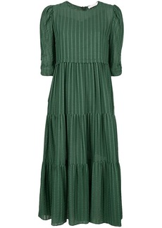 See by Chloé textured stripe dress
