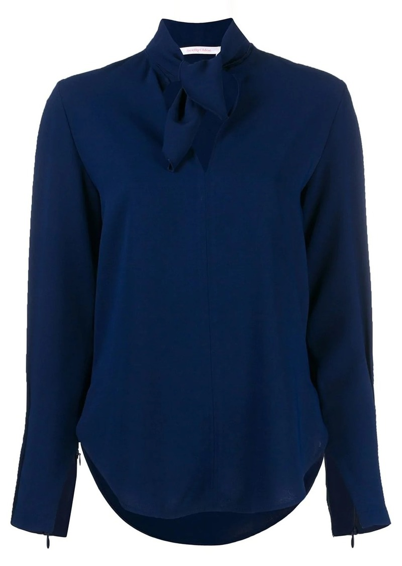 See by Chloé tie-neck blouse
