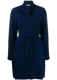 See by Chloé tie-waist short dress
