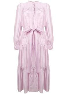 See by Chloé tiered pleated dress