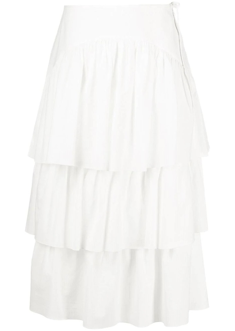 See by Chloé tiered ruffle skirt