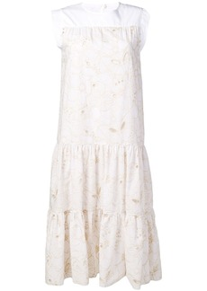See by Chloé tiered summer dress