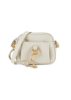 See by Chloé Tony Croc-Embossed Leather Crossbody Bag