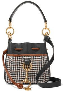 See by Chloé Tony Printed Textured-leather Shoulder Bag
