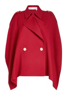 See by Chloé Trench Cape with Cotton