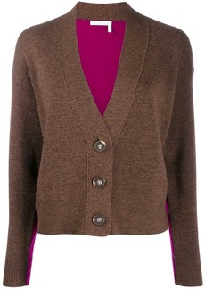 See by Chloé two-tone cardigan