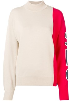 See by Chloé two tone jumper