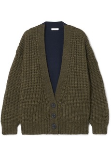 See by Chloé Two-tone Knitted Cardigan