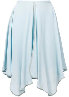 See by Chloé uneven draped skirt