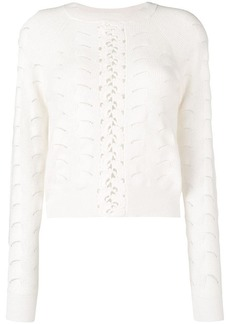 See by Chloé wave knitting sweater