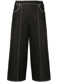 See by Chloé wide leg cropped jeans