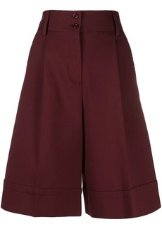 See by Chloé wide-leg knee-length shorts