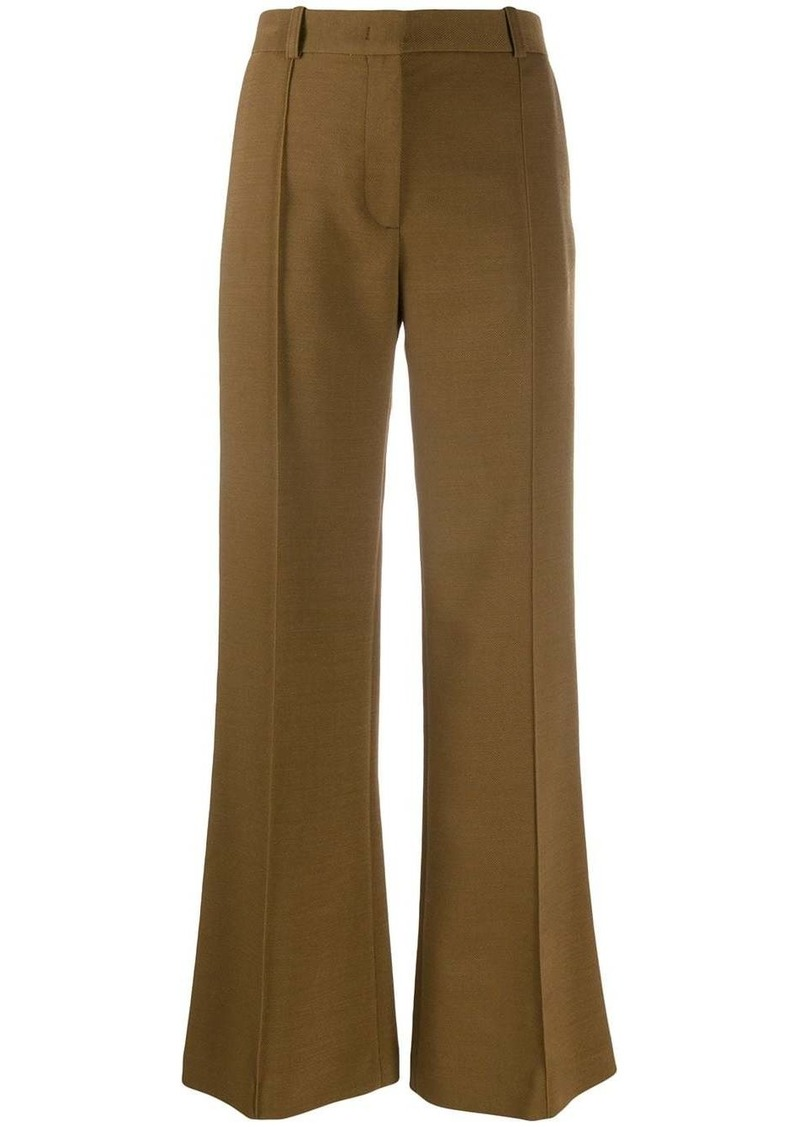 See by Chloé Wool-blend flared trousers
