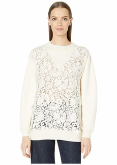 See by Chloé Winter Lace Sweater
