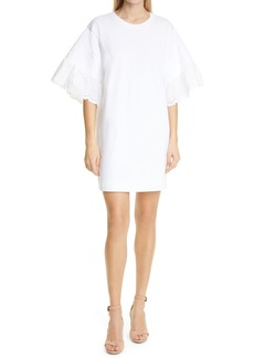 See by Chloé Women's See By Chloe Lace Sleeve Minidress