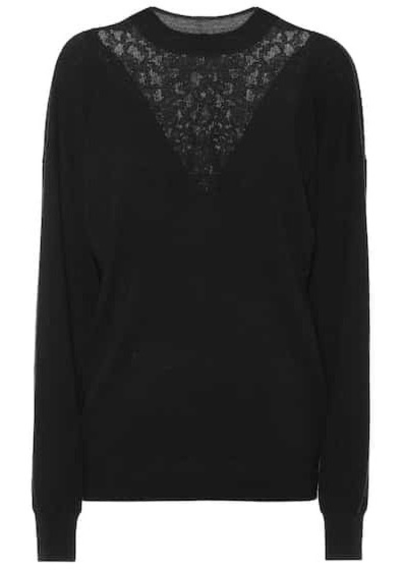 See by Chloé Wool and cotton-blend sweater
