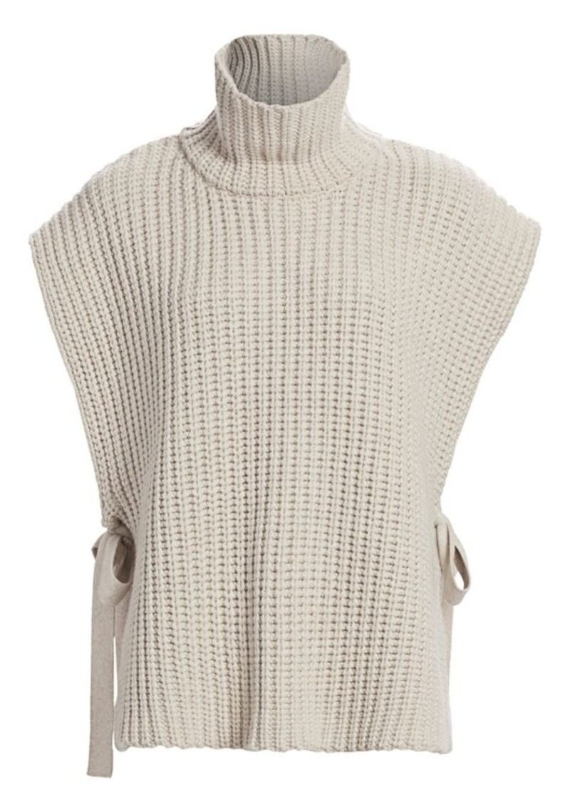 See by Chloé Wool Blend Capelet