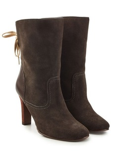 See by Chloé Yvonne Suede Ankle Boots