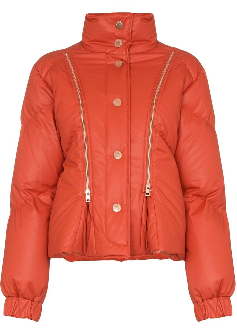 See by Chloé zip-detail puffer jacket