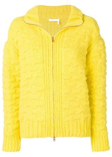 See by Chloé zipped up cardigan