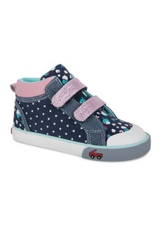 See Kai Run Kya High Top Sneaker (Baby, Toddler & Walker)
