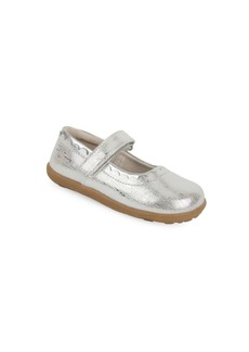 See Kai Run Little Girl's Jane II Leather Mary Jane Flats