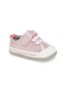 See Kai Run Stevie II Sparkle Sneaker (Baby & Walker)