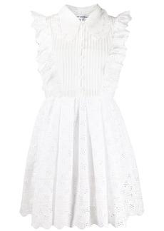Self Portrait broderie anglaise mini dress