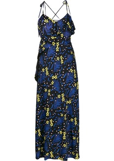 Self Portrait floral print maxi dress