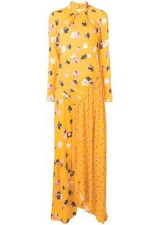 Self Portrait floral print maxi dress