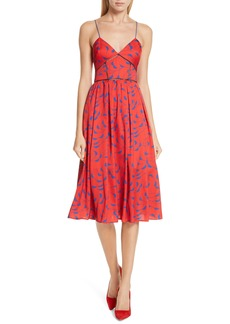 Self Portrait Self-Portrait Azalea Print A-Line Dress