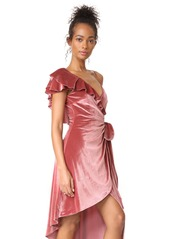 Self Portrait Devore Wrap Dress