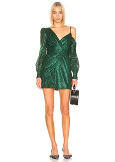 Self Portrait self-portrait for FWRD Asymmetric Sequin Dress