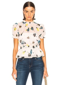 Self Portrait self-portrait Graphic Floral Print Top