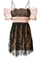 Self Portrait negligee lace dress