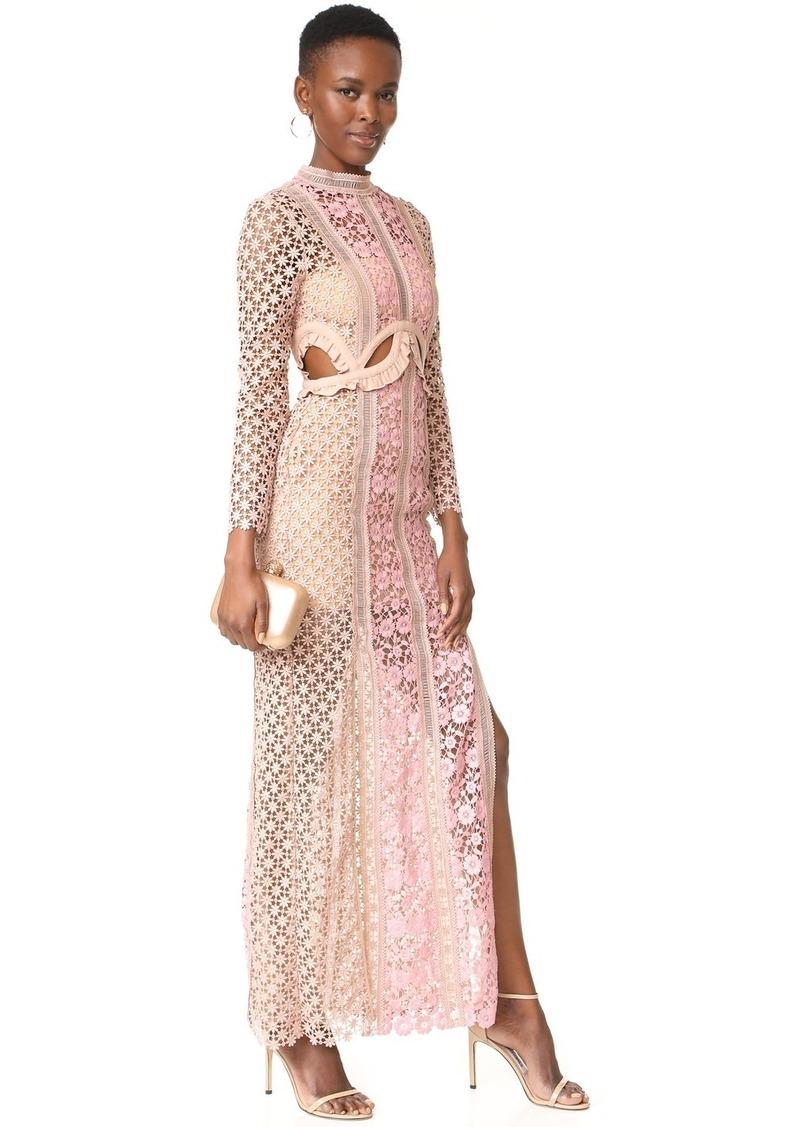 3f4a4039afb9 Self Portrait Self Portrait Payne Cutout Maxi Dress | Dresses