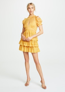 Self Portrait Tiered Mini Dress