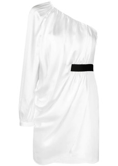 Self Portrait single sleeve short dress